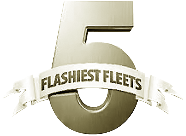 Voted one of North America's 5 Flashiest Fleets