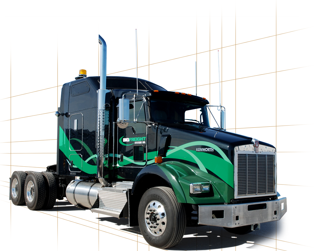Big Freight's new Truck Colors
