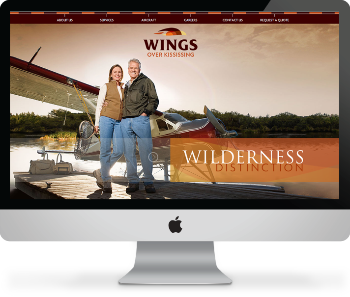 Wings Over Kississing website
