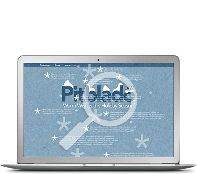 Pitblado Law Christmas E-Card